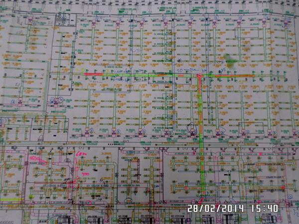 Bản vẽ hệ thống thông gió nhà máy panasonic
