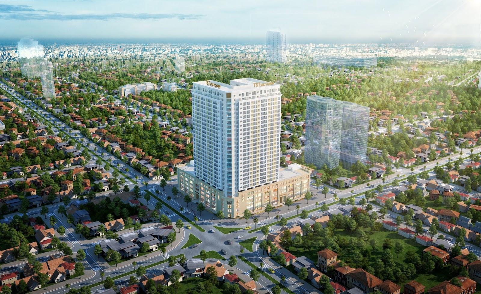 Chung cư cao cấp T&T Victoria - TP Vinh, Nghệ An